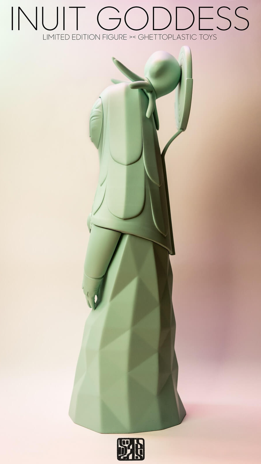 Inuit Goddess By Ghettoplastic Toys Sadgas side 2