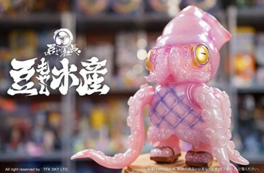 SQUID Chef Squidiano By Mame Moyashi