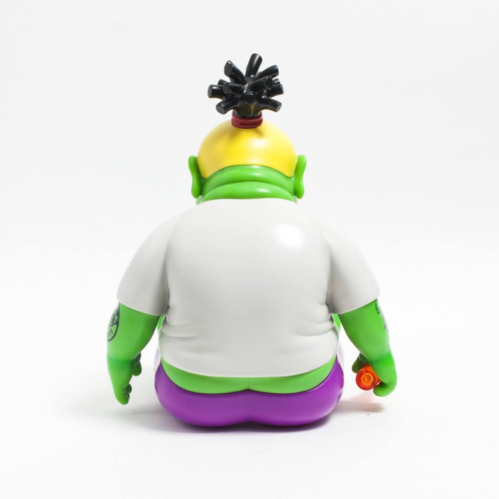 CHUNK KINGDOME COME EDITION SOFT VINYL FIGURE By Jim dreams x Unbox Industries back