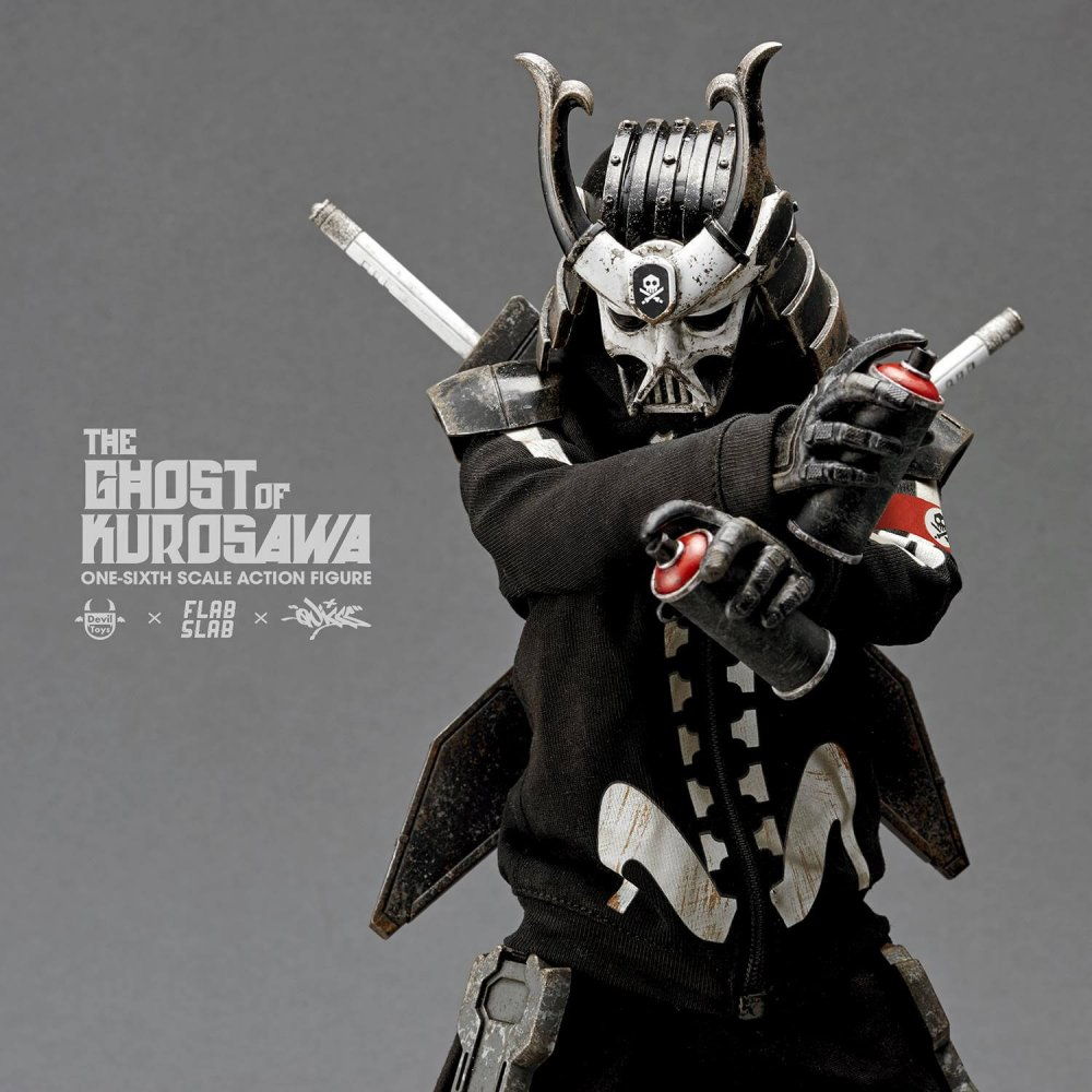 The Ghost of Kurosawa onesix Scale Action Figure Quiccs x FLABSLAB x Devil Toys full 2