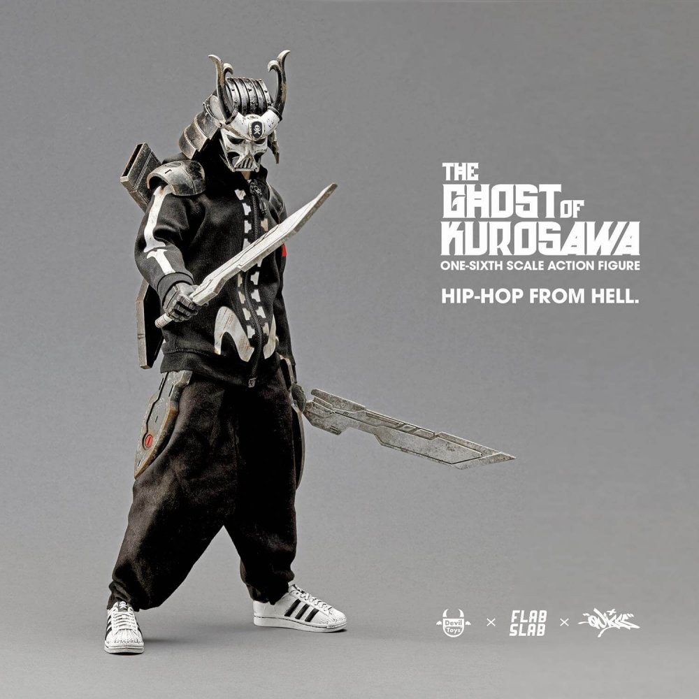 The Ghost of Kurosawa onesix Scale Action Figure Quiccs x FLABSLAB x Devil Toys full 4