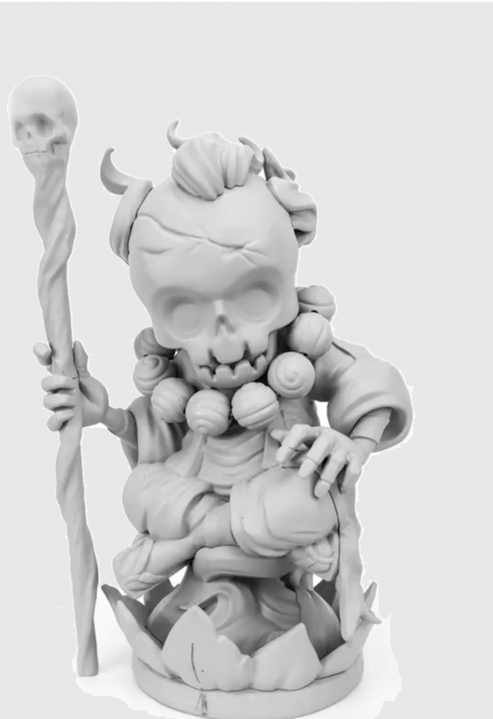 Hell Lotus Reincarnation By ClogTwo x Mighty Jaxx 2017 FRONT