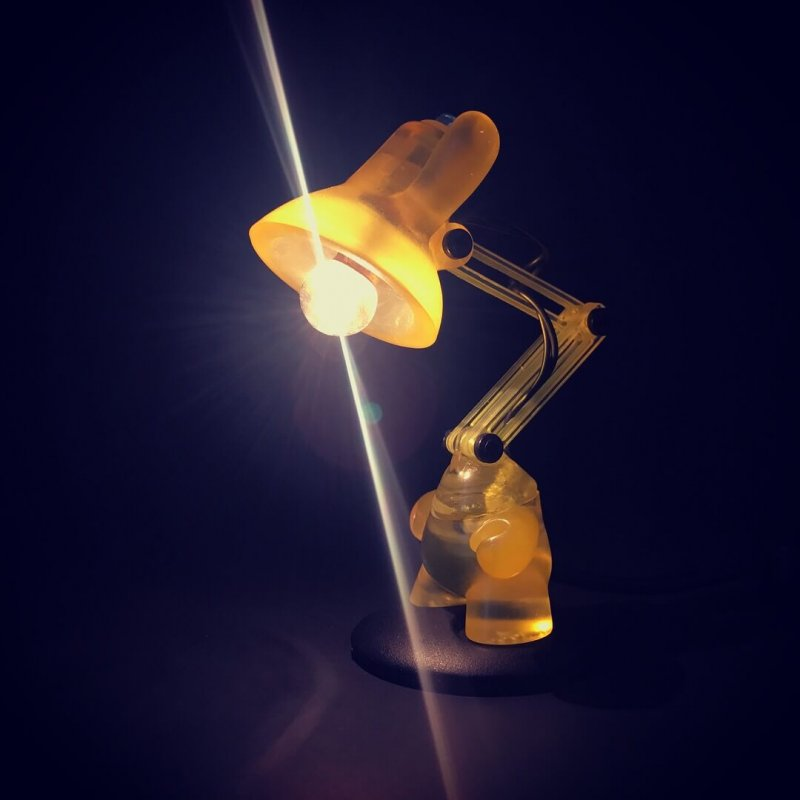 JL2 Dunny Lamp By Made By Forbes Lemon drop