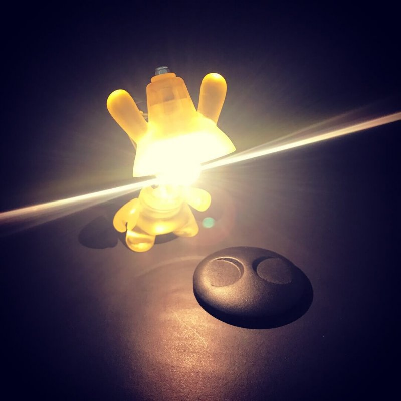 JL2 Dunny Lamp By Made By Forbes base