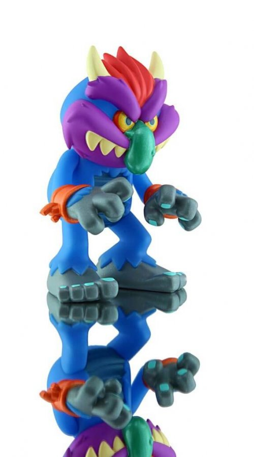 MY PET MONSTER CLASSIC VINYL FIGURE By Creepy Co side