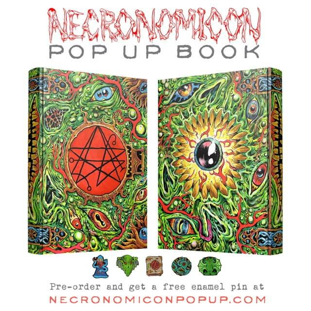Skinner's Necronomicon Pop Up Book