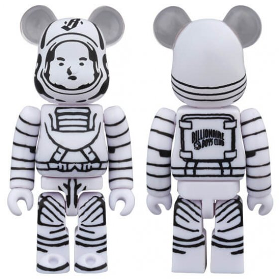 BE@RBRICK BILLIONAIRE BOYS CLUB ASTRONAUT 100%
