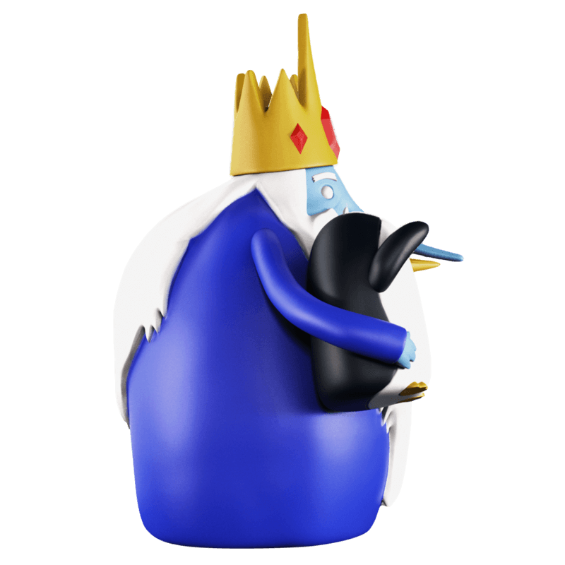 ADVENTURE TIME XXRAY PLUS ICE KING & GUNTER 2