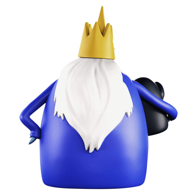 ADVENTURE TIME XXRAY PLUS ICE KING & GUNTER 4