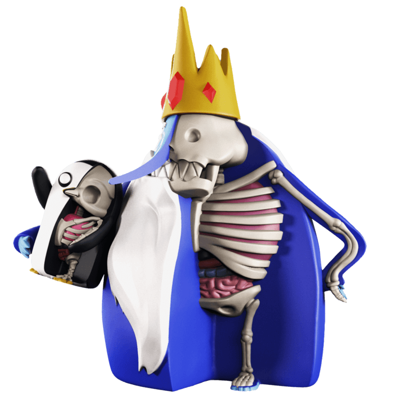 ADVENTURE TIME XXRAY PLUS ICE KING & GUNTER 7