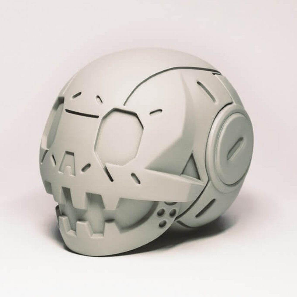 Calaverita MECHAVERITA KICKSTARTER From Beast Brothers x Ghetto Plastic Toys side