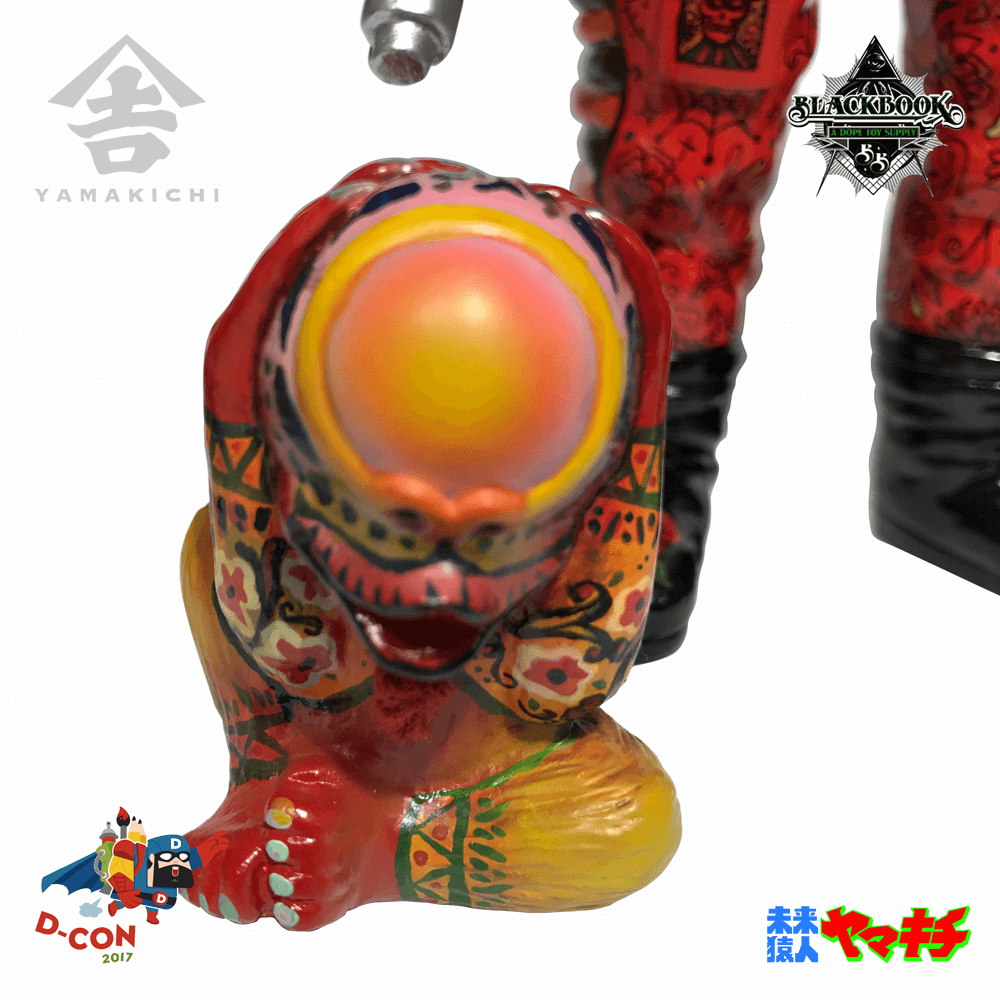ONE OFF Yamakichi by BlackBook Toy for Dcon 9
