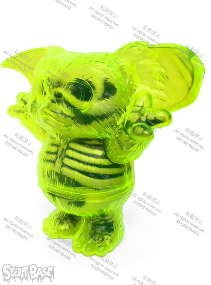 Gremlins Gizmo X-RAY Neon edition By SECRET BASE x atmos side