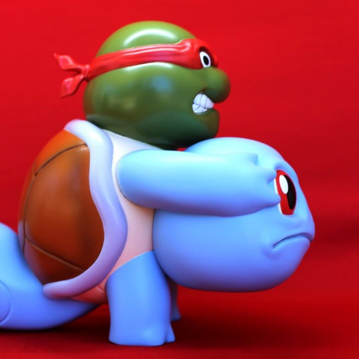 Squirtle Unmasked Icons Unmasked Series By Alex Solis Worldwide Release side 2