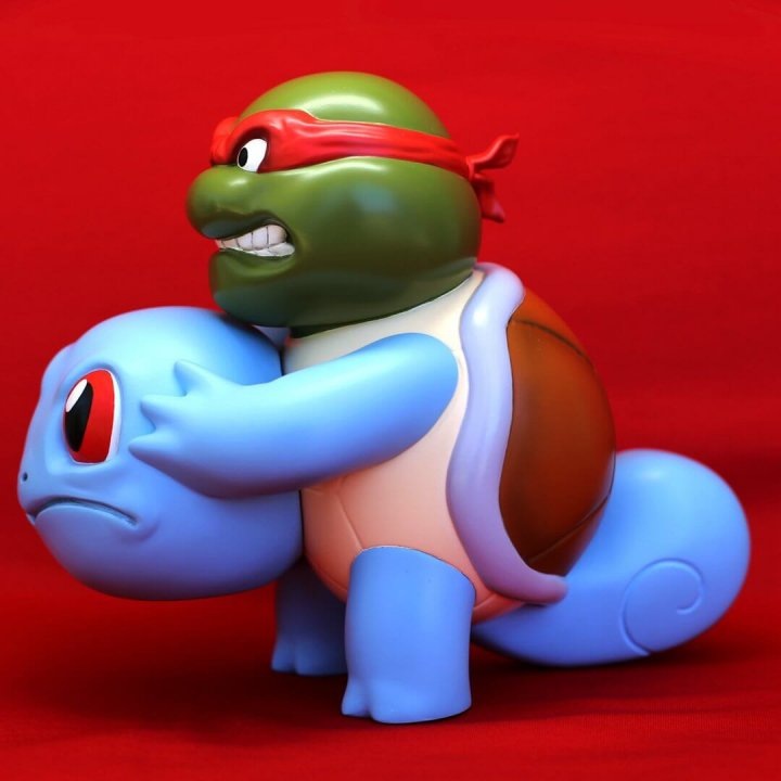 Squirtle Unmasked Icons Unmasked Series By Alex Solis Worldwide Release side